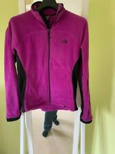 The North Face Womens Zip up Fleece - Purple Size LARGE