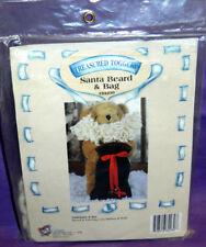 Treasured Toggery Santa Beard & Bag Teddy Bear Accessories Tender Heart Treasure