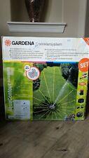 Gardena 1559 Aquacontour Automatic Fully Adjustable Pop-Up Large Area Sprinkler