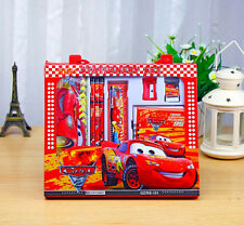 CARS2 8IN1 STATIONERY SET GAME PRIZES PENCILS RULER NOTEBOOK SHARPENER CASE