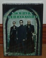 MATRIX RELOADED - DVD - NUEVO - PRECINTADO - PELICULA DE CULTO (SIN ABRIR) R2