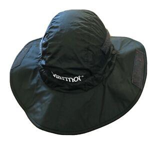 MARMOT Precip Safari Bucket Size Small Dark Green Color Men's Hat RETAIL $48