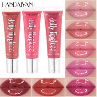 HANDAIYAN Makeup Lipstick Waterproof Long Lasting Moisturizing Jelly Lip Gloss