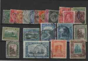 22 stamps from jamaica to 2s