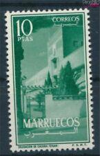 Marruecos - Nordzone Michel.-No..: 8 con charnela 1956 Landesmotive (9413571