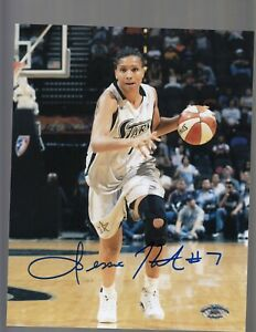Jessie Hicks Stars Signed 8X10 Color Photo W/ #7 SCH Auth