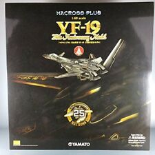 Yamato Macross Plus YF-19 25th Anniversary 1/60 Black Model Figure F/S Japan