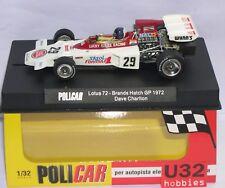 POLICAR CAR02E LOTUS 72 #29 F1 BRANDS HATCH GP 1972 LUCKY STRIKE DAVE CHARLTON