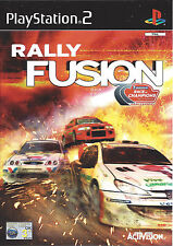 RALLY FUSION RACE OF CHAMPIONS for Playstation 2 PS2 - PAL