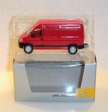 Norev - Opel Movano, Opel Sammlermodell, ca. 9cm lang, in OVP - B081/B13