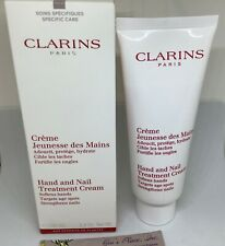 CLARINS PARIS HAND AND NAIL TREATMENT CREAM 3.4oz/100ml SOFTENS HANDS + SEALED