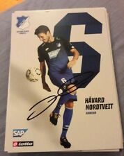 Signierte AK Havard Nordtveit TSG Hoffenheim  NEU
