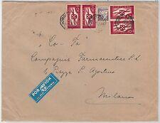 PORTUGAL -  POSTAL HISTORY: AIRMAIL Cover to ITALY 18.07.1940 - ALA LITORIA LATI
