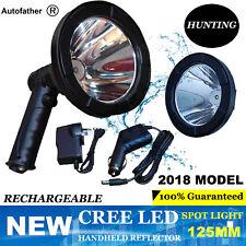 Hunting 980W LED CREE T6 12V Rechargeable Spotlight Hunt Handheld Spot Light NEW