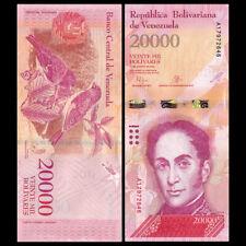 Venezuela 20000 20,000 Bolivares, 2016/2017,  P-NEW, UNC