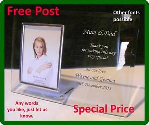 Valentine , Wedding, Loved One, Specail occasion  Photo Freme Engraved Free Post