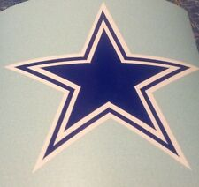 "Dallas Cowboys Decals Stickers (12"") w/bonus Sticker"