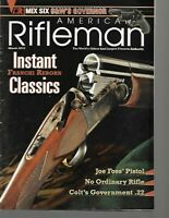 American Rifleman Magazine March 2012 Colt's Government .22, Smith & Wesson
