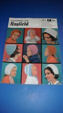 Hayfield Bonnets For The Family Knitting Pattern 764