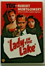 Lady In The Lake DVD. 1946 Film Noir.  Robert Montgomery, Audrey Totter.