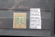 FRANCOBOLLI ITALIA REGNO FLOREALE L10  NUOVI** MNH** (F97820)