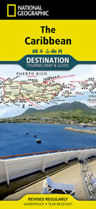 Caribbean National Geographic Travel Map