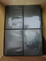 Lot of 72 Empty DVD Cases Used Bulk Assorted Mixed Variety Colors