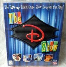 The D Show 1998 Walt Disney CD-ROM Trivia Computer Game NEW SEALED PC MAC
