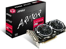 MSI Radeon RX 570 ARMOR 4G OC 4GB GDDR5 Graphics Card (V341-077R)