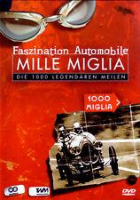 MILLE MIGLIA Faszination Automobile -1000 Meilen (DVD) *NEU OVP* D, Engl. Ital.