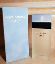 Dolce & Gabbana D&G Light Blue 100 ml Eau de Toilette Spray NEU OVP