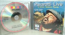 PAVAROTTI  -  Live  in  Verona - Modena - Parma