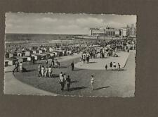 OSTEND 1958 Kursaal Sea Front RP postcard  n.143