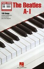 Piano Chord Songbook The Beatles Learn Play Lyrics POP Rock Music Book