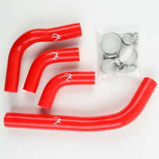 Red Silicone Radiator Hose Kit For Honda CRF250 CR250X 2004-2009 05 06 07 08 09