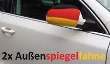Außenspiegel Überzug Deutschland * Auto Fahne Flagge * EM WM * im 2er Set * NEU