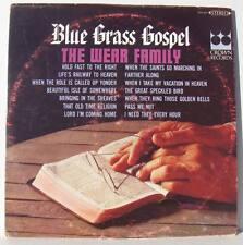 The Wear Family Blue Grass Gospel Crown 5431 vinyl lp Bluegrass