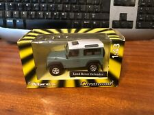 Cararama 1/43 Scale Land Rover Defender - Green/White Roof - Boxed