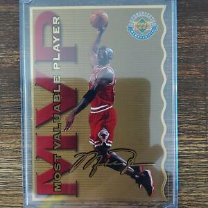 RARE 1996 Upper Deck Limited Edition Michael Jordan Jumbo Die Cut MVP 2199/2500