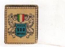CALCIO  Figurina Stadio ed .BEA 1948-49  JOLLY  NAZIONALE  VALE 500 NOVARA