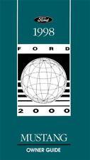 repair manuals literature for 1998 ford mustang ebay rh ebay com 1998 ford mustang owners manual download 1998 ford mustang owner's manual