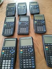 Texas instruments lot of 9 calculators most are ti83