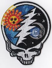 GRATEFUL DEAD - STEEL YOUR FACE / SUN, MOON, LIGHTNING - IRON or SEW ON PATCH