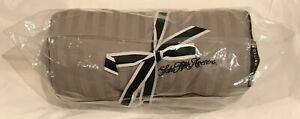 United Polaris Business First Class Saks Fifth Avenue Duvet Blanket Gray Sealed
