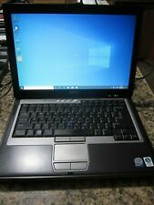 Dell Latitude D630 Laptop 2.20 GHz 4GB RAM CD-RW/DVD 120GB SSD Windows 10 Pro