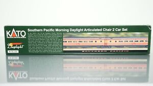 KATO 106-6305 SP Daylight Articulated Chair 2 Car set N scale