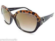 ROBERTO CAVALLI womens MARFAK sunglasses Black Cheetah / Mirror Lens RC882S 05G