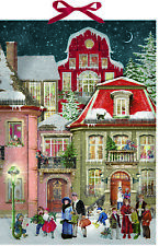 ADV266 Holiday Express by Ingrid Slyder Advent Calendar 105 x 24.5cm stand up