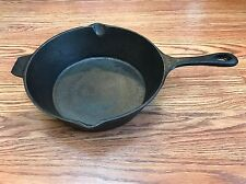IL Mulino New York Cast Iron Frying Pan 8 Inches Eight Clean Seasoned