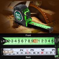 Steel Measure Tape Double-sided Metric Type Wood Working Tools 3 5 7.5M
